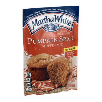 Martha White Muffin Mix Pumpkin Spice