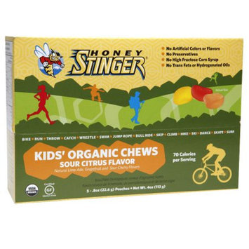 Honey Stinger Organic Kid's Chews Sour Citrus