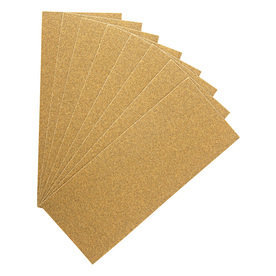 3M 8-Pack 80-Grit 3.66-in W x 9-in L Stripping Sandpaper 423-080G-SBP