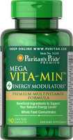 Puritan's Pride Mega Vita-Min Energy Modulators-90 Caplets