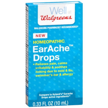 Walgreens Homeopathic EarAche Drops, .33 oz