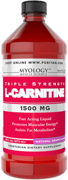 Myology L-Carnitine 1500 mg Grape -16 oz-Liquid