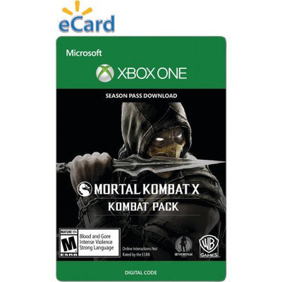 Incomm Xbox One Mortal Kombat X Season Pass - $29.99 (email delivery)