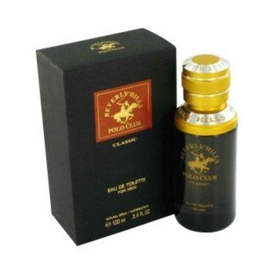 Beverly Fragrances Gift Set -- 3.4 oz Eau De Toilette Spray + 2.5 oz After Shave Balm