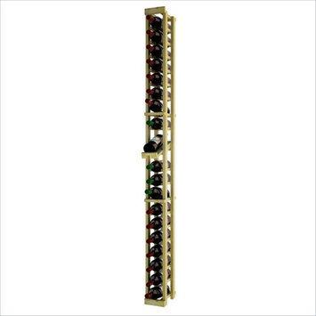 Wine Cellar Innovations Traditional Series 72 1-Column Pine Wine Rack with Display Shelf