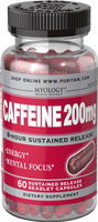 Myology Caffeine 200 mg 8-Hour Sustained Release-60 Capsules
