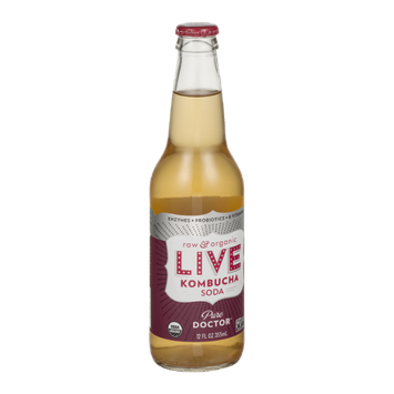 LIVE Kombucha Soda Pure Doctor