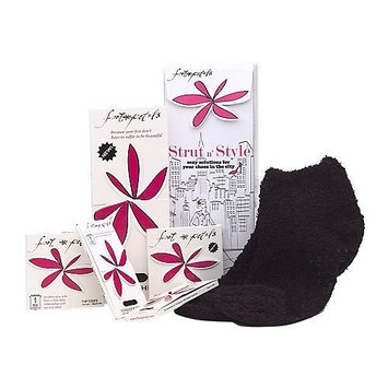 Foot Petals Strut N Style Shoe Insoles Gift Set, 6 Best-Selling Products, Black