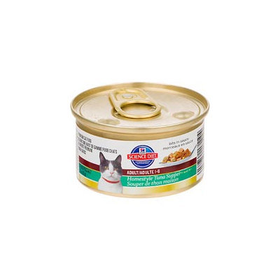 Hill's Science Diet Adult Homestyle Tuna Supper Canned Cat Food