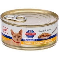 Hill's Science Diet Mature Adult Tender Chicken Dinner
