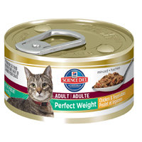 Hill's Science Diet Perfect Weight - 24x2.9 oz