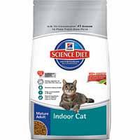 Hill's Science Diet Mature Adult Indoor Cat Food