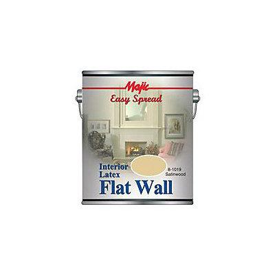 Yenkin Majestic 8-1019-1 Majic Interior Latex Flat Wall Satinwood Gallon