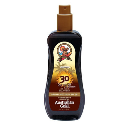 Australian Gold Spray Gel with Instant Bronzer SPF 30