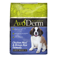 AvoDerm Natural Large Breed Dry Puppy Food 15lb