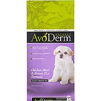 Avoderm Natural Small Breed Puppy - Chicken & Brown Rice - 3.5 lbs