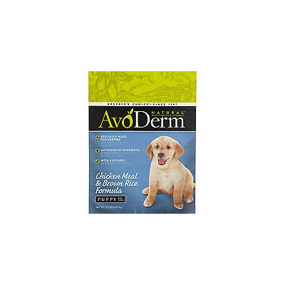 AvoDerm Natural Chicken Meal & Brown Rice Formula Puppy Food