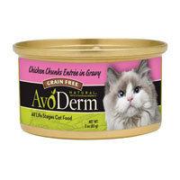 Avoderm Canned Cat Food Chicken Chicken 3 Oz