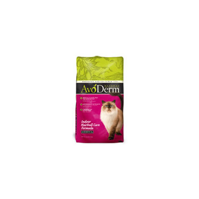 AvoDerm Natural Indoor Hairball Care Cat Food, 6 lbs.