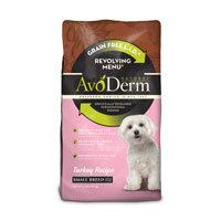 AvoDerm Natural Small Breed Revolving Menu Turkey Recipe Adult Dog Food, 4 lbs. ()