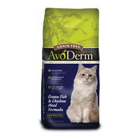 AvoDerm Natural Grain Free Ocean Fish & Chichen Meal Adult Cat Food, 6 lbs.