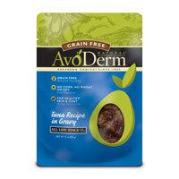 AvoDerm Natural Grain Free Tuna Cat Food Pouches, 3 oz.