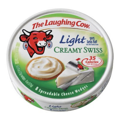 Laughing Cow The  Spreadable Light Swiss Cheese Wedges 8 ct