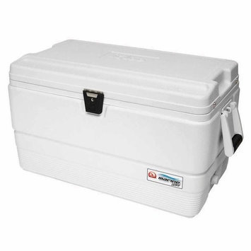 IGLOO 44685 Chest Cooler, Marine,72 qt, White