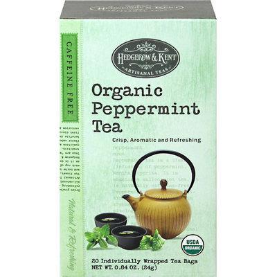 Hedgerow & Kent Organic Peppermint Tea-20 Bags