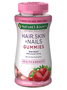 Nature's Bounty® Optimal Solutions® Hair Skin & Nails Gummies