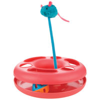 ToyShoppeA Round Ball Track and Swatter Cat Toy