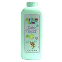 My Fair Baby Baby Powder Large Size 22 Oz (Value Pack of 12)