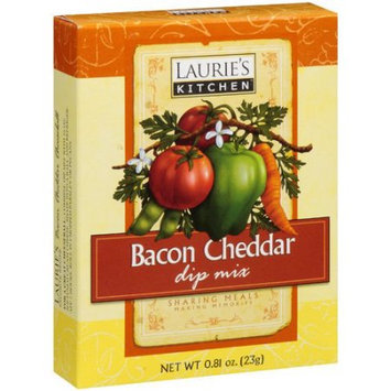 Laurie's Kitchen Lauries Kitchen Bacon Chdr Dip Mx (12x0.91OZ )