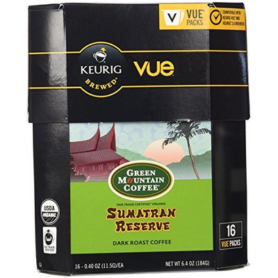 Green Mountain Coffee Sumatran Reserve Coffee, Vue Cup Portion Pack for Keurig Vue Brewing Systems