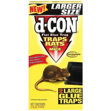 D-Con - Rat Glue Traps - 2 Ct.(Pack of 3)