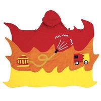 Kidorable Boys 2-7 Fireman Towel, Red, Small