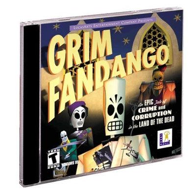 LucasArts Grim Fandango (Jewel Case) - PC