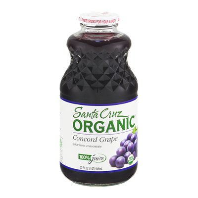 Santa Cruz Organic Concord Grape Juice