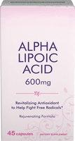 Puritan's Pride Alpha Lipoic Ace 600 mg-45 Capsules