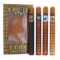 Cuba amgcubp4 1.17 Oz. Prestige Gift Set For Men 4 Piece