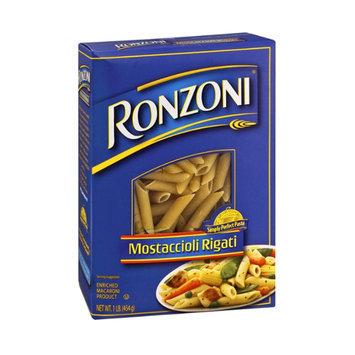 Ronzoni Enriched Macaroni Product Mostaccioli Rigati