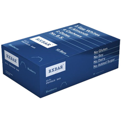 RXBAR Protein Bar Blueberry 12 Bars