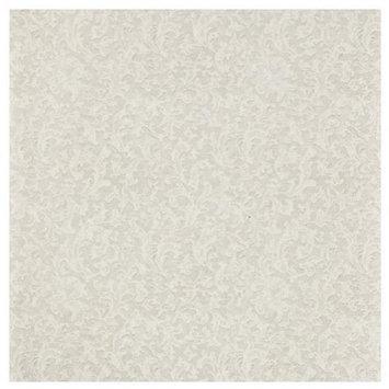King Zak Ind Lillian Tablesettings 23225 Cream Texture Lunch Napkin - 960 Per Case
