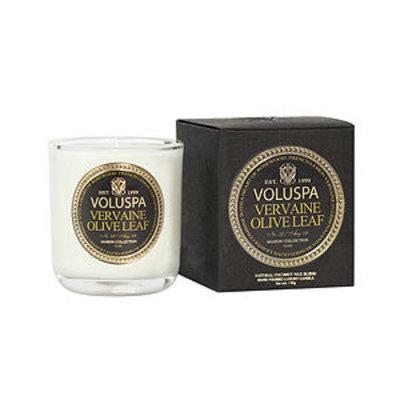 Voluspa Classic Boxed Votive, Vervaine Olive Leaf, 3 oz