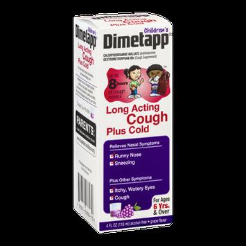 Dimetapp Children's Cough Plus Cold Grape Flavor