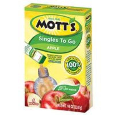 Mott's Singles To Go Apple Flavor