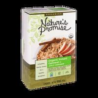 Nature's Promise Organics Organic Instant Oatmeal Apple Cinnamon - 8 ct