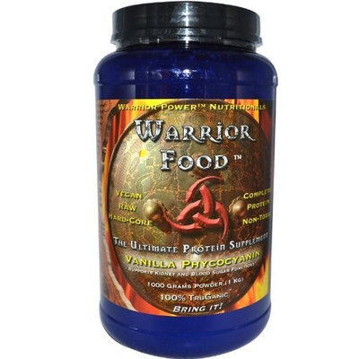 Health Force Warrior Food Vanilla Enhanced, Vegan Protein, 1000 gram