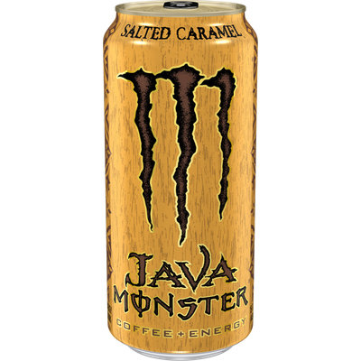Monster Energy Java Coffee + Energy Salted Caramel