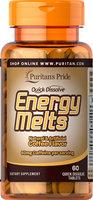 Puritan's Pride Quick Dissolve Energy Melts Coffee Flavor-60 Tablets
